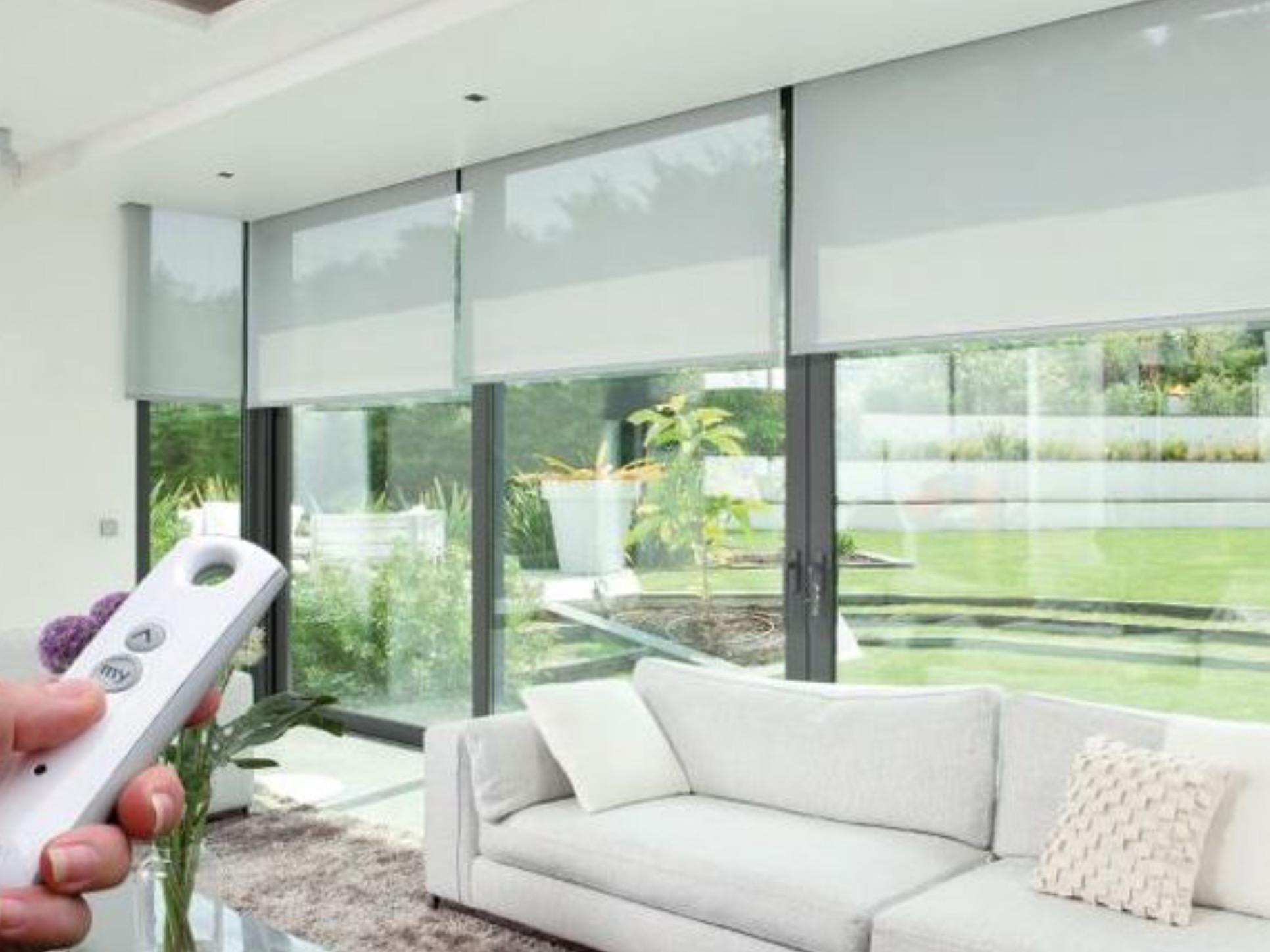 Motorized blinds installation hollywood florida fifty for Motorized blinds shades